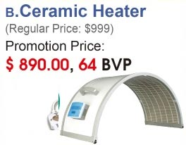 SoQi Ceramic Heater
